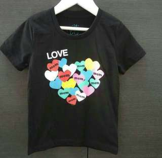 Limited Edition Love Mom shirt