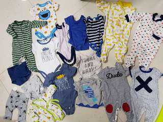 (Updated w/ more items) Baby boy clothes bundle
