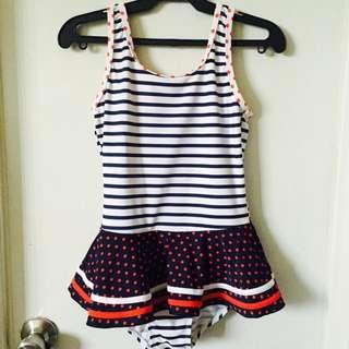 Little Girl's One Piece Swimsuit