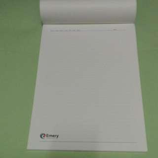 A4 Notepads x 4