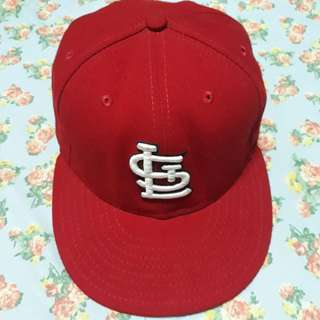 Authentic New Era St. Louis Cardinal Cap