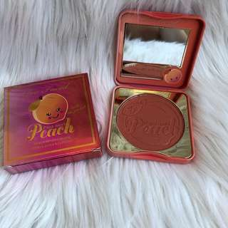 Too faced peach blush