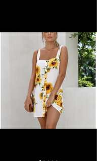 Sunflower Summer Dress