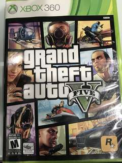 Grand Theft Auto 5(V) Xbox 360