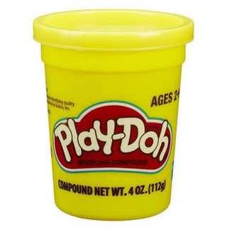 Yellow Play Doh 4 oz Single Can