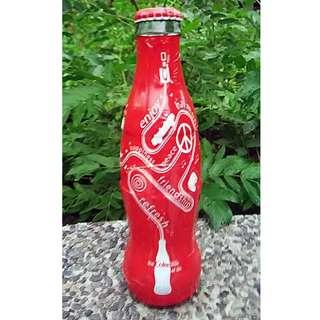 可口可樂07年美國包膠紀念樽一枝B款