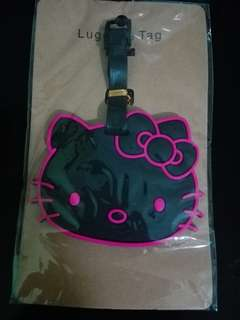Hello Kitty Luggage Tag (BIG BLACK)