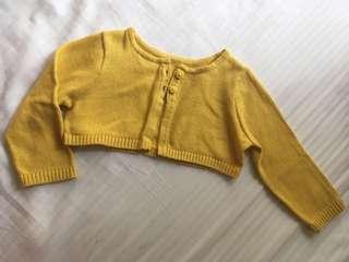 Coldwear Baby Cropped Cardigan 12m