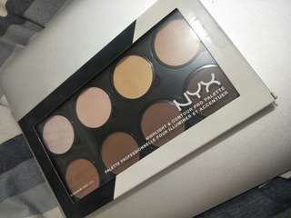 Highlight and contour pro palette