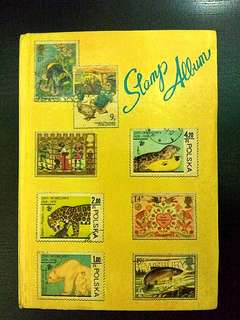 Stamp Collection from Childhood