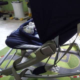 Baby rocker convertible foldable chair