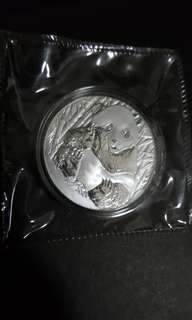 2013 Shanghai Mint 1st China Panda coin Collection Expo 1 oz Silver Medal