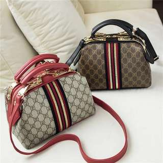 High Quality Leather Gucci Sling Bag