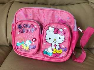 Hello Kitty 小童 斜孭袋 背包