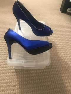 "Your something ""blue"" heels"