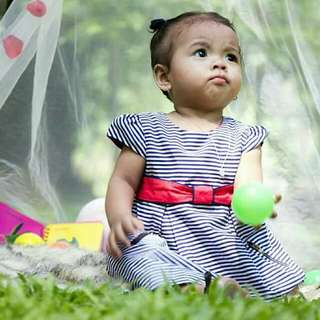 Periwinkle 18mons. Baby Dress