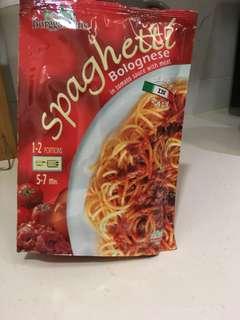 即食意粉 意式肉醬汁意粉  Borggardens spaghetti