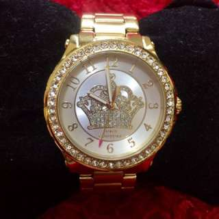 Juicy Couture Gold plated watch