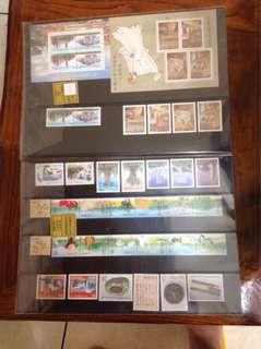 🚚 中華民國郵票89年發型