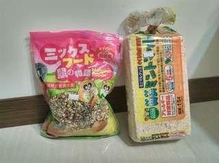 小老鼠的食品和用品