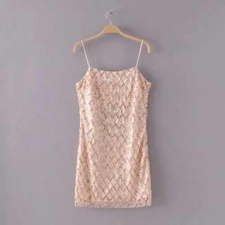 🔥2018 Slim Sexy Bright Halter Dress