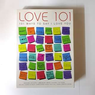 LOVE 101 (101 ways to say i love you)