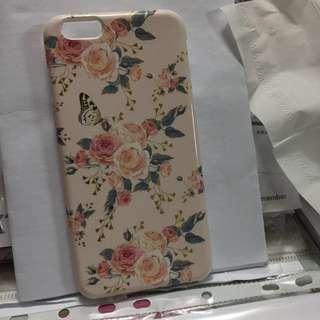 玫瑰花花iPhone 6 plus case
