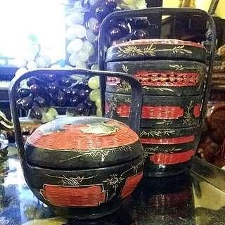 Antique Nyonya  Bakul Peranakan  Basket Sia Seah