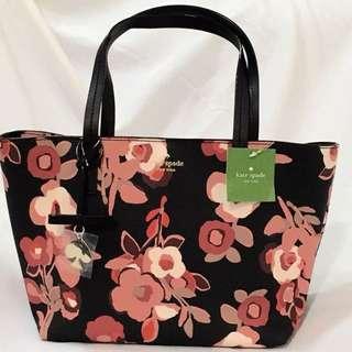 Kate Spade Hawthorne Lane Floral Ryan Small Tote Bag