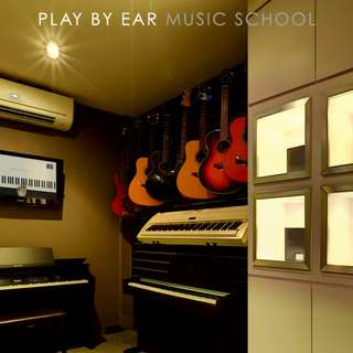 Play by Ear Music School offers music lessons and music instruments