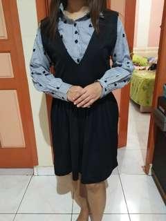 Rompi dress (bisa dipakai terpisah)