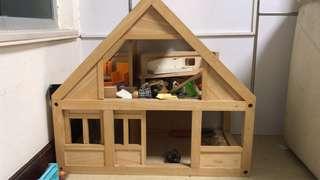 二手玩具木屋連配件