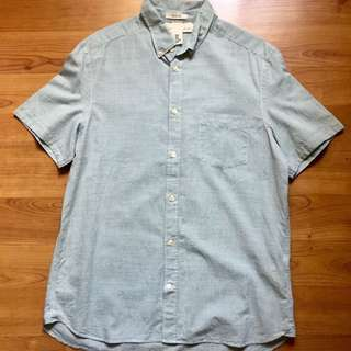 H&m buttondown polo shirt