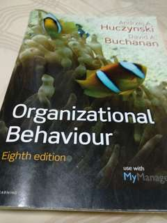 Organizational Behaviour 8th edition - Andrzej A. Huczynski  David A. Buchanan by Pearson
