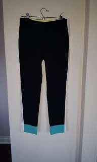 Wilfred Conan tuxedo colourblock pant size 6
