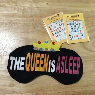 Sleeping Mask + Nail Stickers