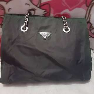Authentic Prada Tessuto Bag