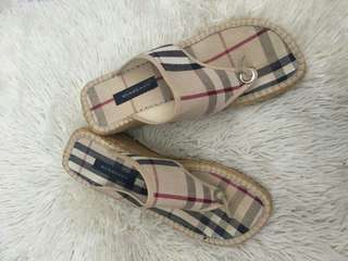 Authentic Burberry Slippers