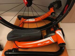 Bike trainer - Elite Super Crono Power Mag (8 levels)
