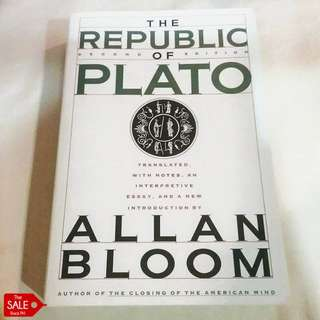 The Republic of Plato trans. by Allan Bloom