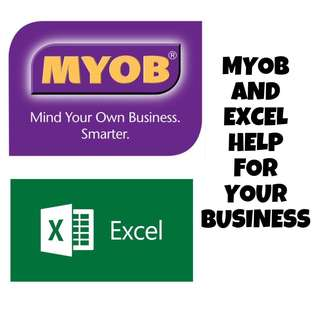 MYOB and MS Excel Course