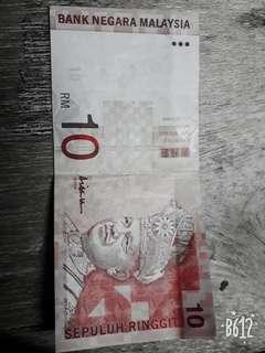 Jual duit rm10 lama