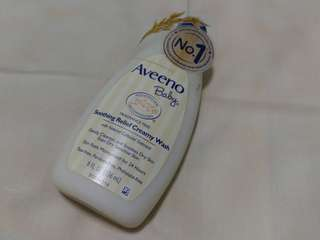 Aveeno Baby Fragrance Free Soothing Relief Creamy Wash