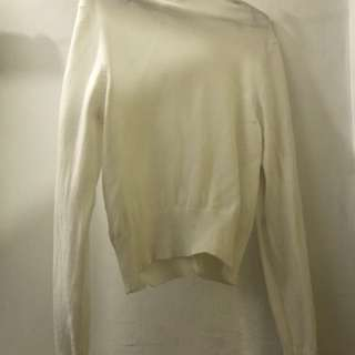 White Cardigan, used only once