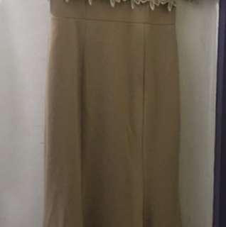 Nude long gown, used only once
