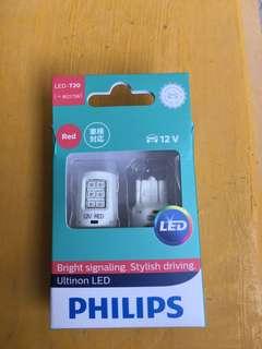 Philips Ultinon LED T20 Red Original