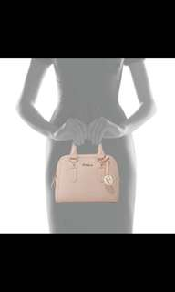 Authentic furla pink bag small