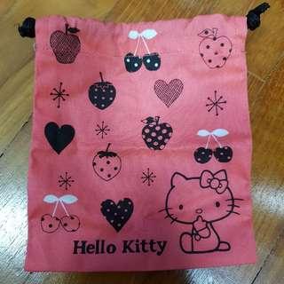 BN Hello Kitty Drawstring Pouch