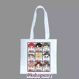 EXO Canvas Tote Bag