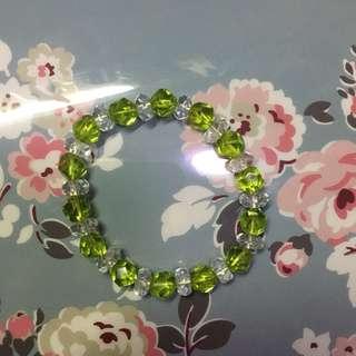 綠珠仔手鏈